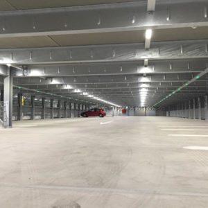 SES AG Parkhaus Beleuchtung KSB Baden