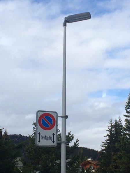 Hella LED Strassenleuchte Gemeinde Vaz/Obervaz