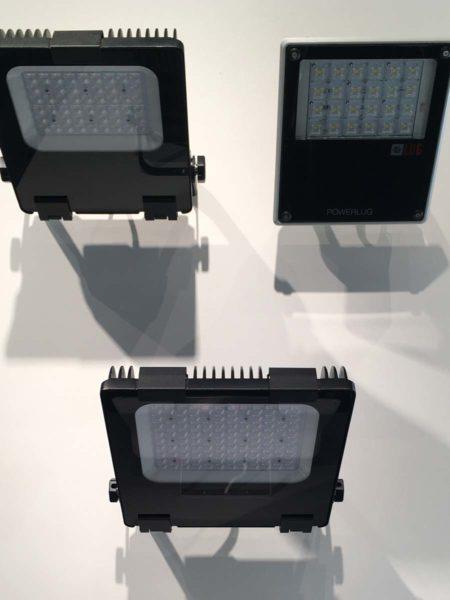 SES AG LED Flutlicht Scheinwerfer an der Ineltec Basel 2017