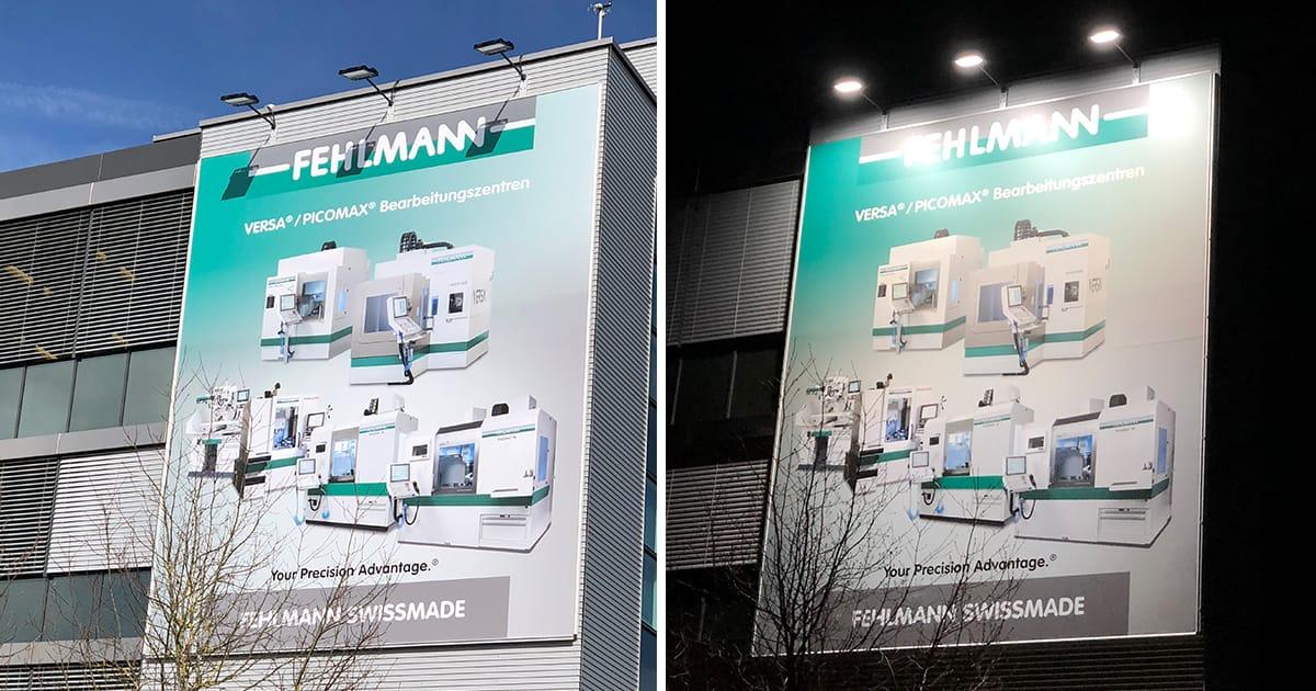 Fehlmann AG Seon - Aussenbeleuchtung SES AG Eiger