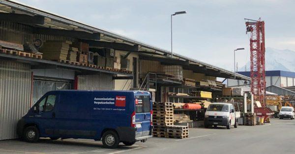 Beleuchtung Aussenbereich Frutiger AG Uetendorf